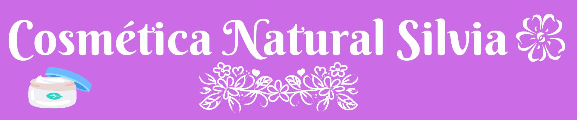 Cosmética Natural Silvia