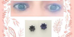 Delineador de ojos con ingredientes naturales respetuosos con la piel y libre de tóxicos.